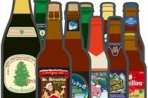 今年のクリスマスビールラインナップ2014-15